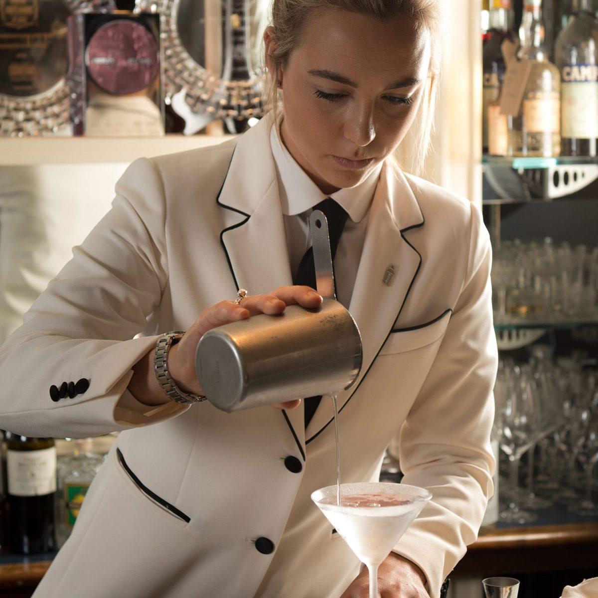 Mixologist at The Savoy