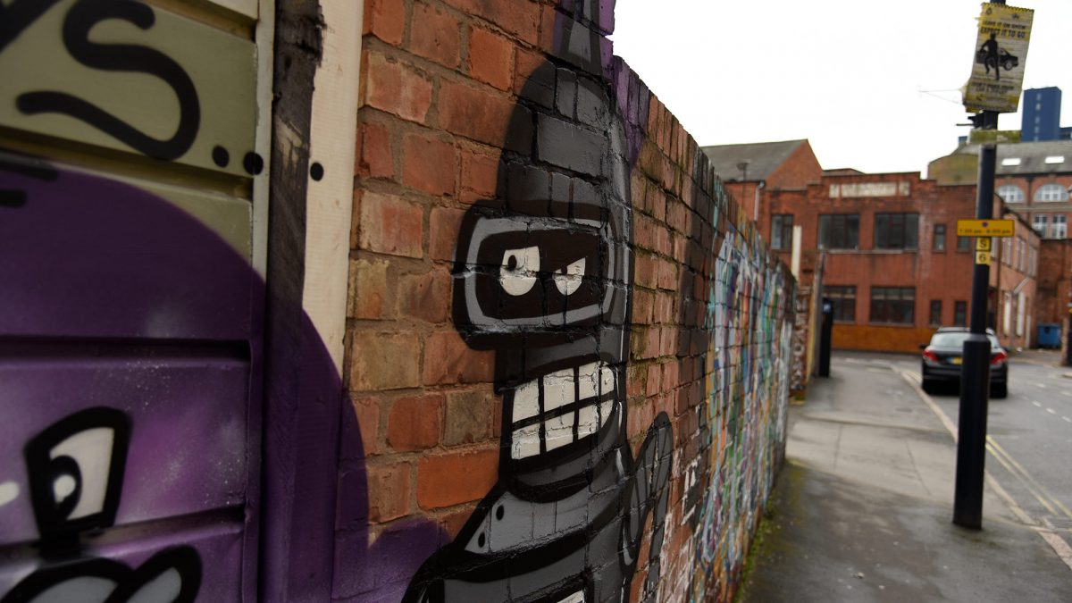 Street art in Leicester